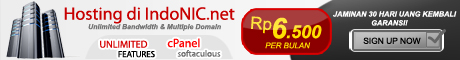 IndoNIC.net - Web Hosting Murah (cPanel), Gratis Domain